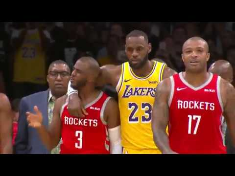 Houston Rockets vs Los Angeles Lakers | October 20, 2018 ...