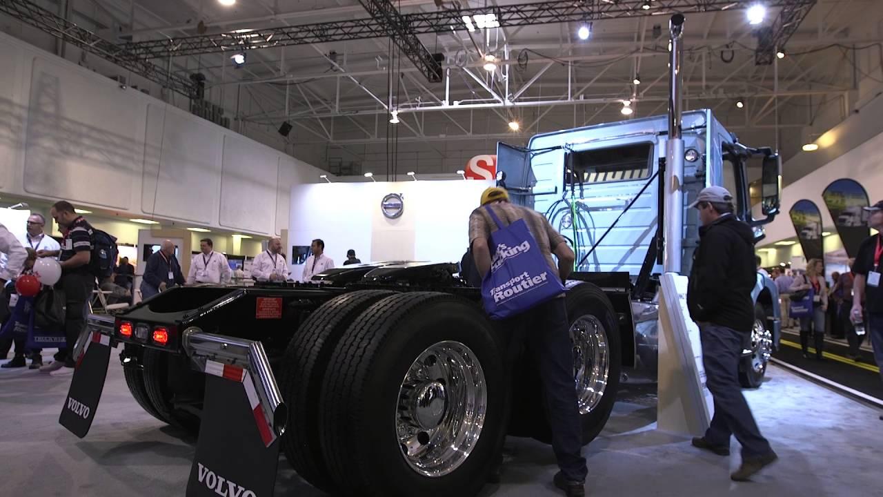 Volvo Trucks Canada >> Truck World 2016: 6x2 Axle Configuration - YouTube