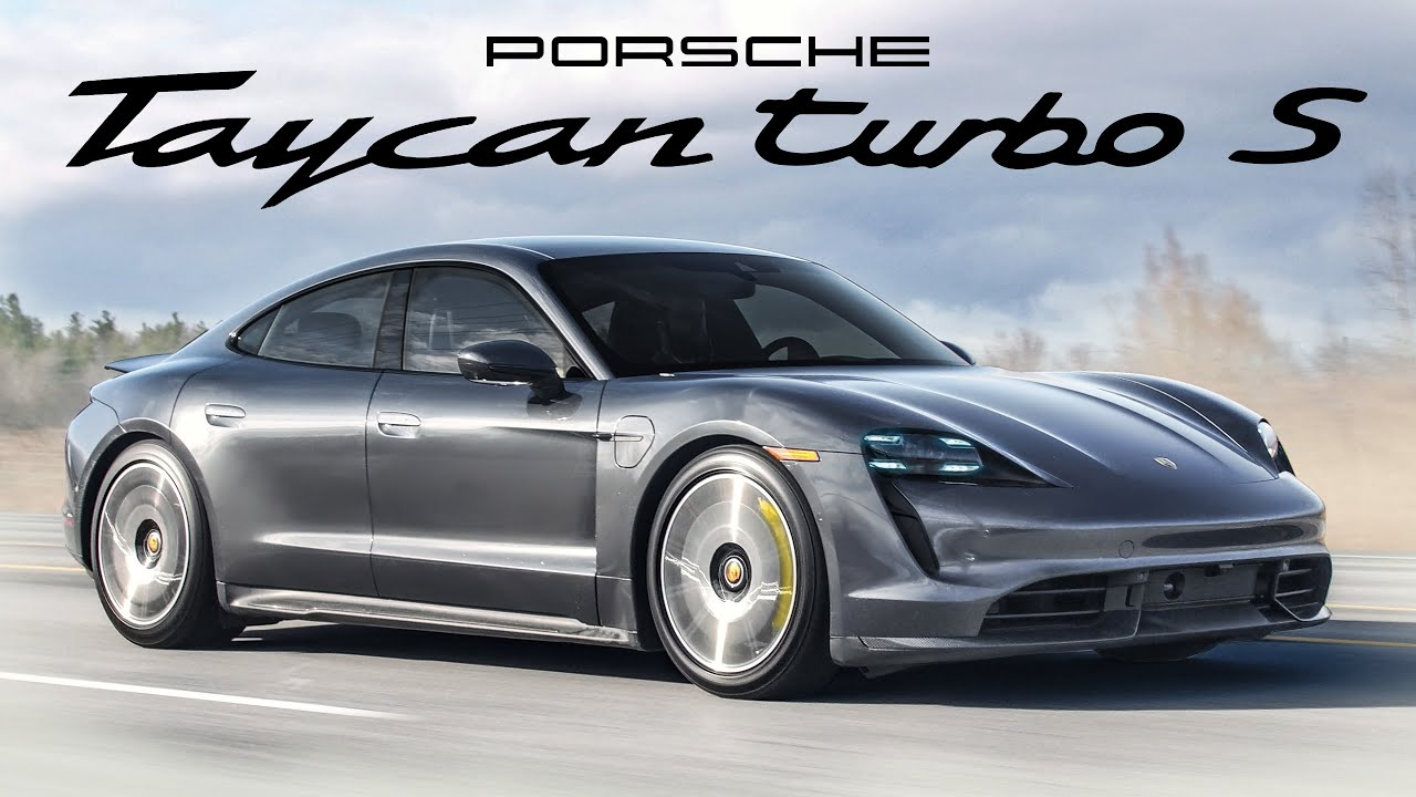 The 2020 Porsche Taycan Turbo S is a $250,000 Electric Sports Car