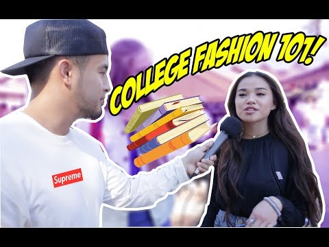 THESE COLLEGE STUDENTS WORE WHAT!?