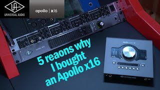 5 reasons why I bought an Apollo x16 (switching ITB after 10 years of OTB mixing)