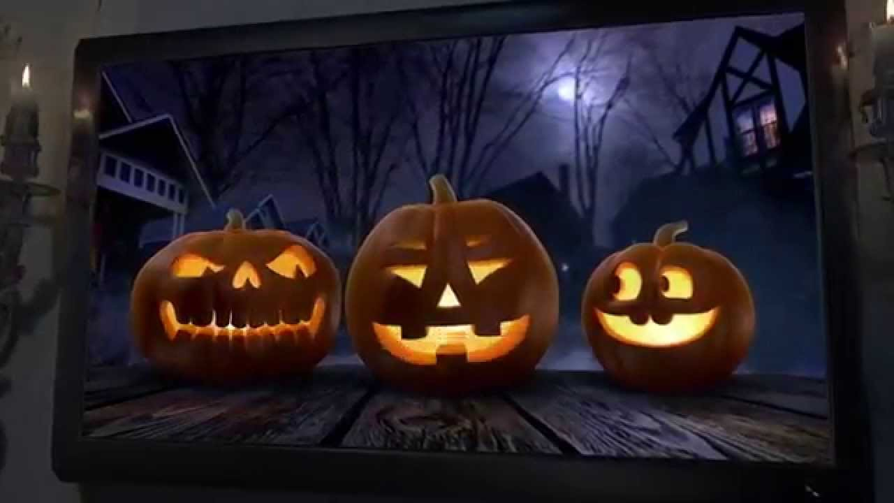 atmosfear fx jackolantern special effects pumpkin projection tv dvd halloween decoration