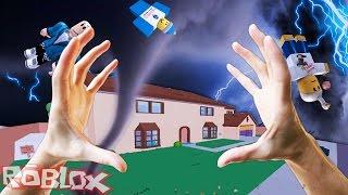 REALISTISCHE TORNADO IN ROBLOX - Naturkatastrophen Mod - Realistische Roblox | JeromeASF