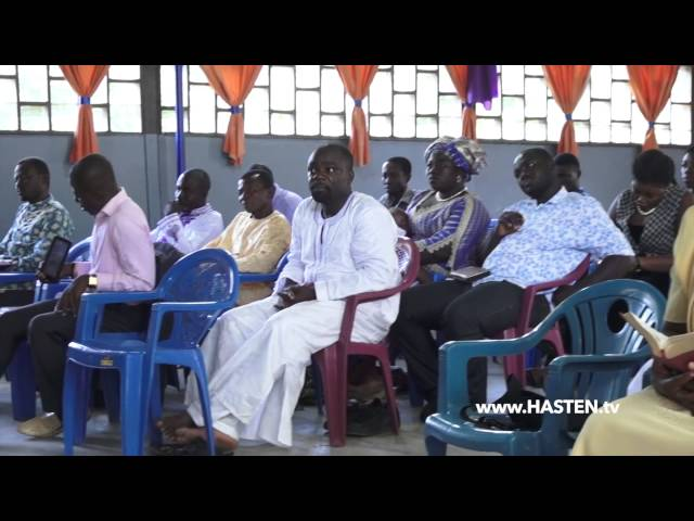 Dustan Stanley - The Blood of Jesus - Kumasi, Ghana  (Sermon in Twi/English)