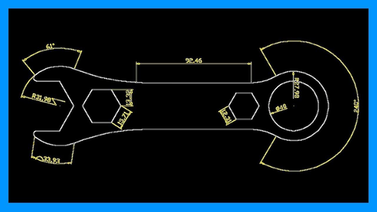 Autocad  Como acotar herramientas para acotar dibujos Tutorial