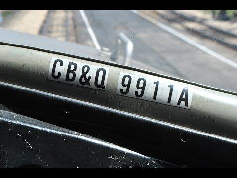 """Nebraska Zephyr 9911A """"Silver Pilot"""" EMD E5 (Cab Ride)"""