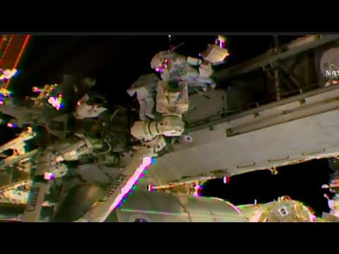 FULL U.S. Spacewalk #45 ISS Expedition 53 Canadarm Maintanance Coverage (Bresnik and Vande Hei)
