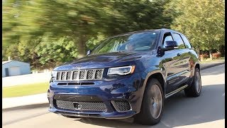 My Week with the 707 HP Jeep Grand Cherokee Trackhawk!