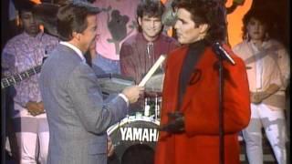 Dick Clark Interviews Michael Damian - American Bandstand 1986
