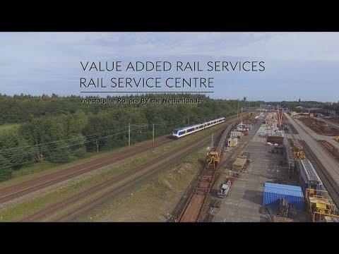 Promo voestalpine RailPro Rail Service Centre