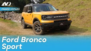 Ford Bronco Sport - ¿Una alternativa a Jeep? | Primer Vistazo