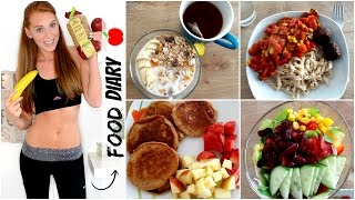 FOOD DIARY #2 | MEINE ERNÄHRUNG - Montag bis Samstag Thumbnail