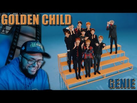 Golden Child(골든차일드) - Genie MV REACTION!!! | Their Vocals .