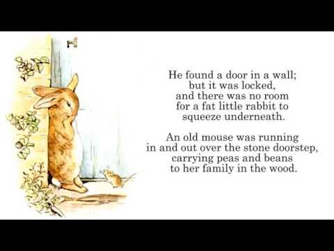 Beatrix Potter | The Tale of Peter Rabbit Audiobook Read-Along Story