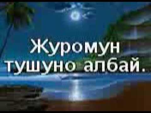 суйуу жонундо ырлар кыргызча создун тексты менен