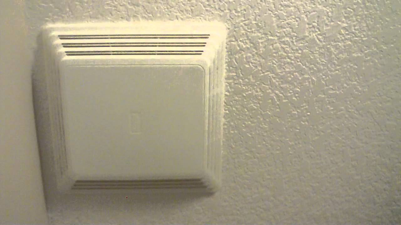 my broan bathroom fan from 2002 - youtube