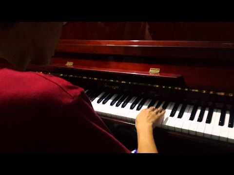 Mi mi mi - serebro piano short blues improvisation
