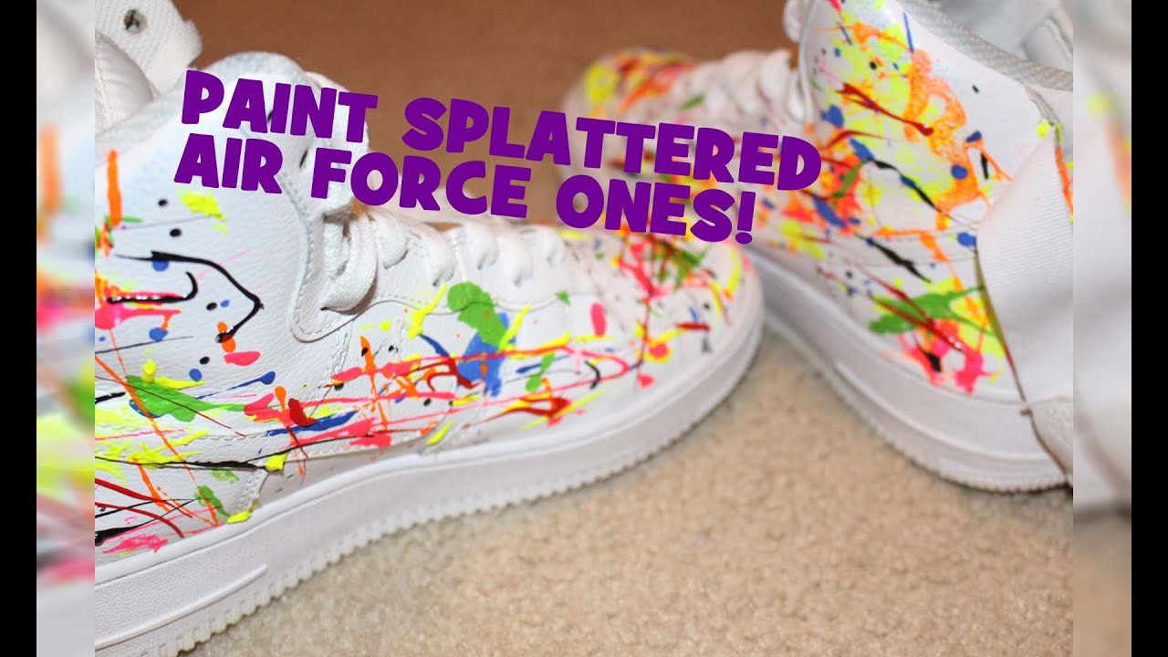 1,000$ Customized Nike Air Force One