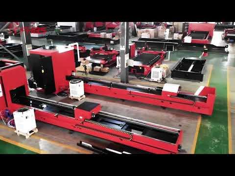 F6020GE - Baisheng Laser - Tubo Laser versátil - Máquina de corte para tubos com precisão