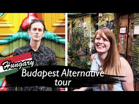 Budapest Hungary ALTERNATIVE CITY TOUR (Graffiti and Ruin Bars of Budpest)