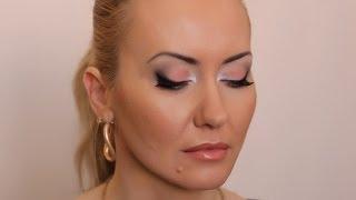 Вечерний макияж ПЕРСИКОВЫЕ ТЕНИ