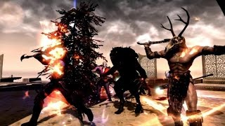 skyrim battles daedric tournament 13 15 hircine vs sheogorath legendary settings