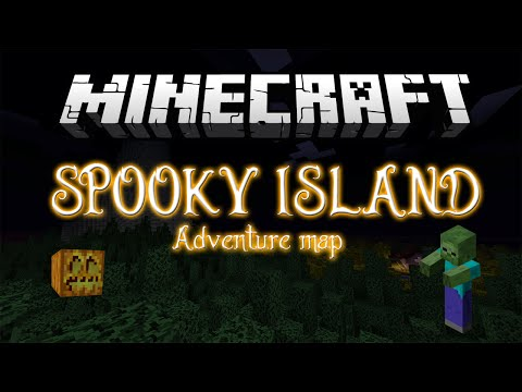 Minecraft Halloween: Spooky Island Adventure Map!