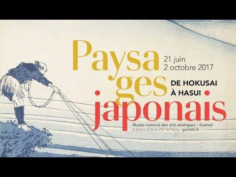paysages japonais de hokusai hasui bande annonce de l 39 exposition youtube. Black Bedroom Furniture Sets. Home Design Ideas