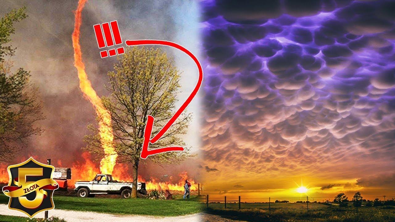 5 niezwykłych zjawisk atmosferycznych
