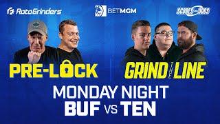 WEEK 6 MONDAY NIGHT FOOTBALL DFS SHOWDOWN & LIVE SPORTS BETTING: BILLS VS TITANS - ROTOGRINDERS screenshot 2