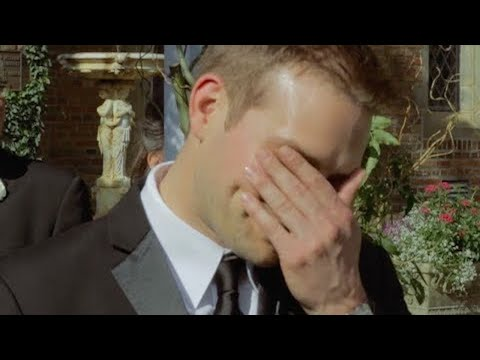 This Groom's Reaction Will Make You Cry |  Heart + Soul
