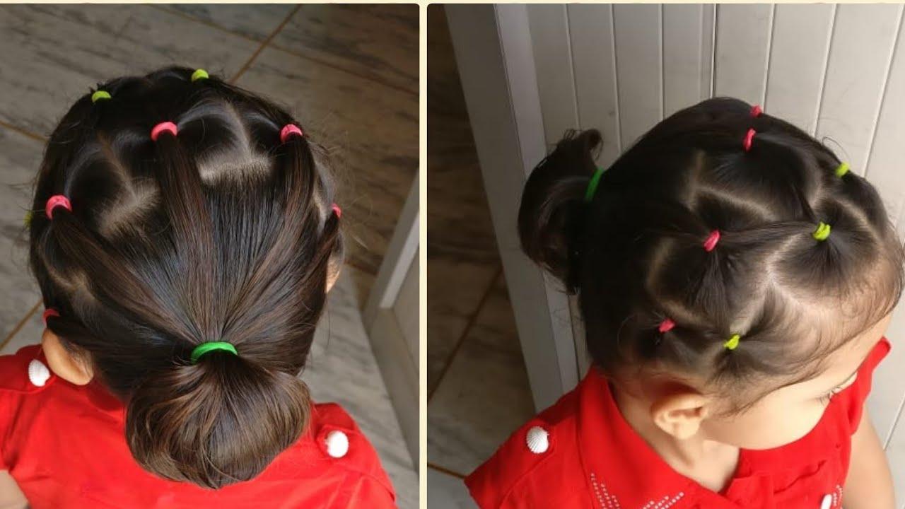 بالفيديو تسريحات شعر العيد للأطفال سهلة وبسيطة