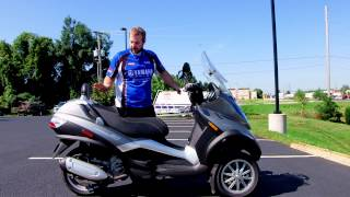 2009 Piaggio MP3  3-Wheel Scooter