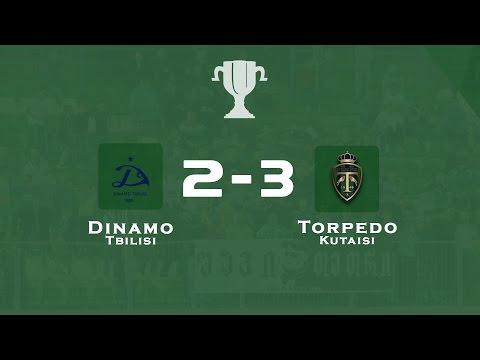 """""""Dinamo"""" Tbilisi - """"Torpedo"""" Kutaisi 2:3 Georgian Cup Semifinal)"""