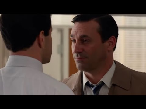 Mad Men - Don Draper Blow Up- HD audio and video