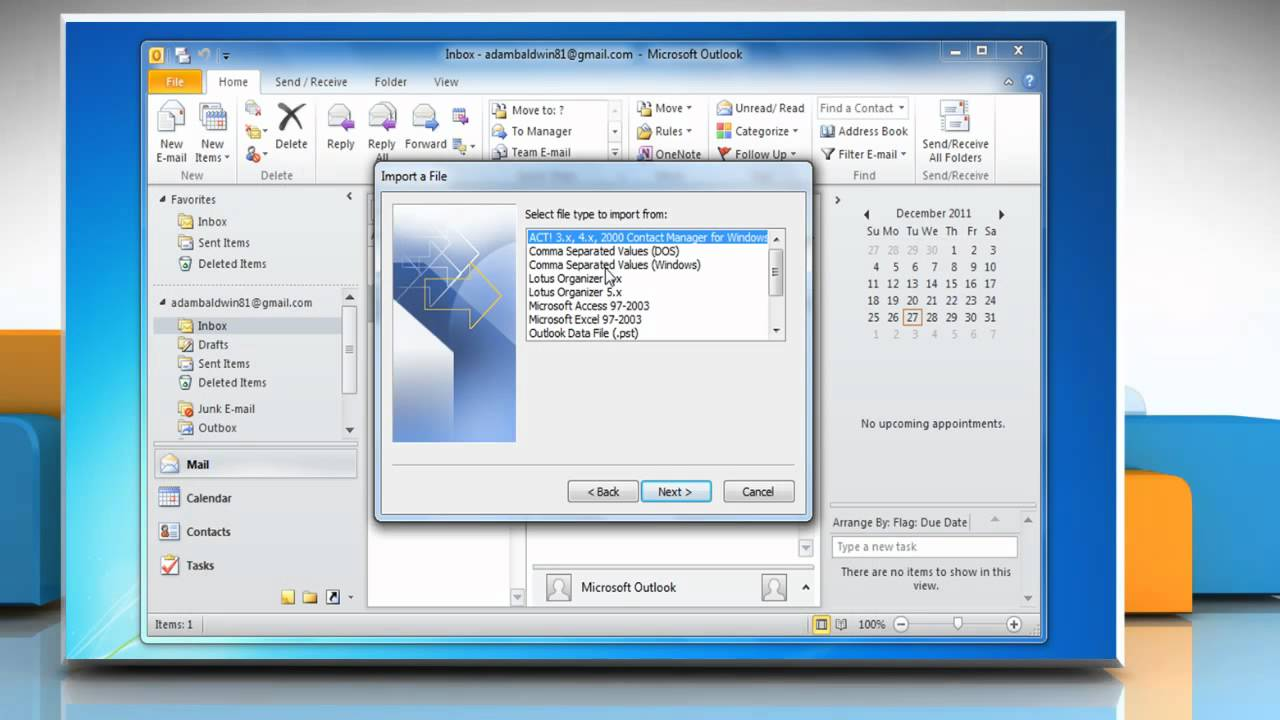 how to create email distribution list in outlook 2010