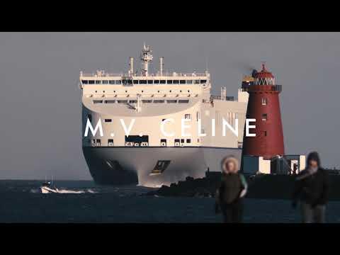 CLDN's MV Celine & MV Delphine at Dublin Port