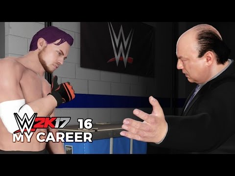 THE FRANCHISE PLAYER - WWE 2K17 My Career