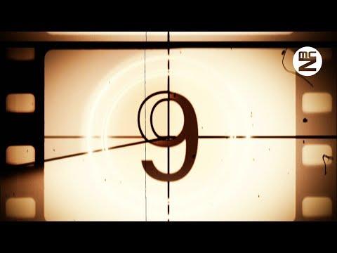 HD 4K - 10 seconds Old Film Countdown with music - Timer - Conto alla rovescia 10 - 倒數