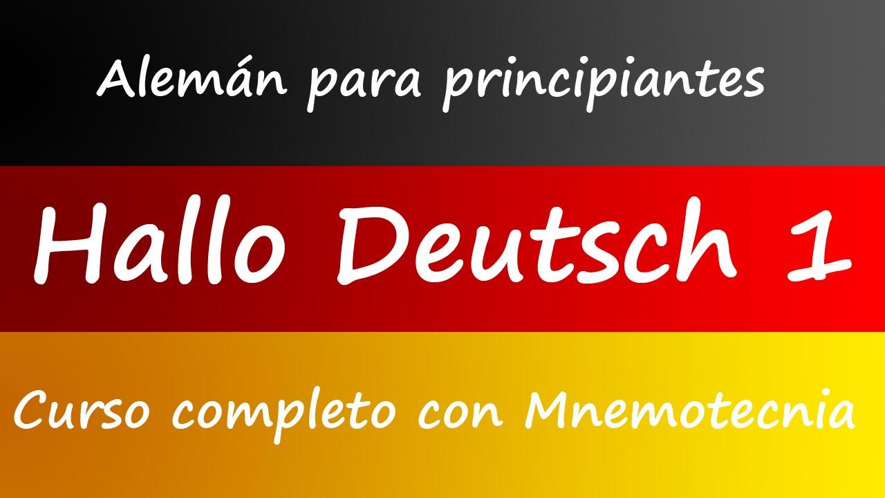 Aprender Alemán Fácil Curso Y Libro Para Principiantes
