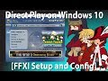 How to turn on Direct Play for Legacy Games on Windows 10 and Configure Final Fantasy XI