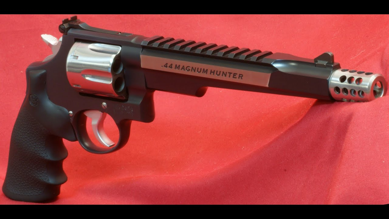 Smith & Wesson .44 Magnum Hunter Revolver Review - Range Tests - YouTube