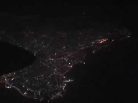 THE SIGHT & THE SOUND 1-6/10 : Hemus Air TU-134B LZ-TUT inflight documentary from Beirut to Dubai
