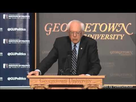 Bernie Sanders Defines Democratic Socialism Evoking FDR & MLK (10 Min Version)