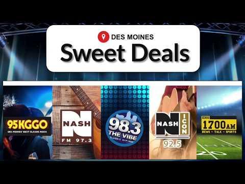 Sweet Deals -  Cumulus Media Des Moines