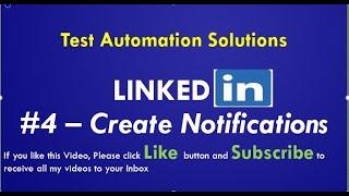 LinkedIn   Create Job Alert Notifications   Tutorial # 4