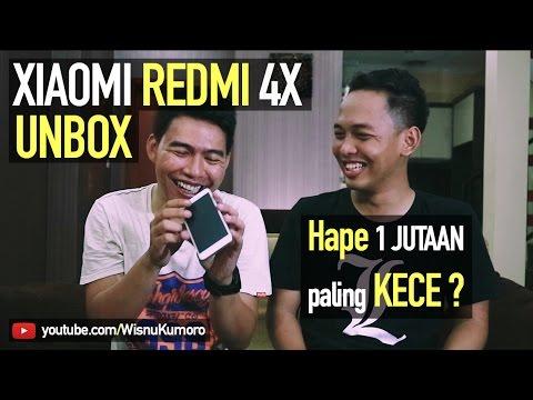 Unboxing Xiaomi Redmi 4X: Diluar Dugaan, Ternyata...