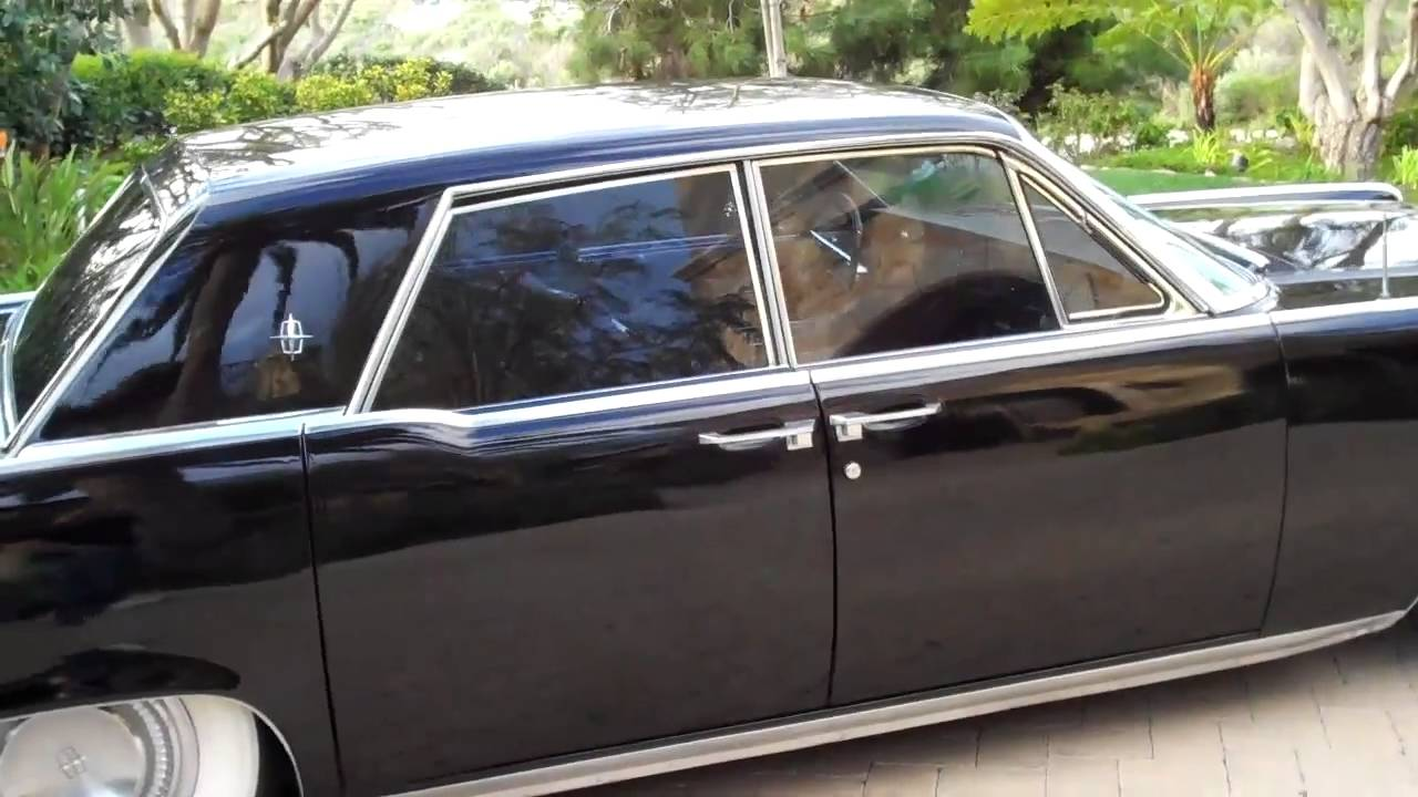 1964 lincoln continental on air bags youtube. Black Bedroom Furniture Sets. Home Design Ideas