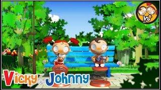 Vicky & Johnny | Episode 65 | PARK STORY | Full Episode for Kids | 2 MIN