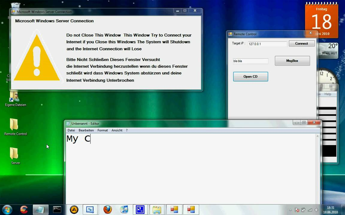 Vb2008 My working Remote Winsock Rat/Trojan Beta Download
